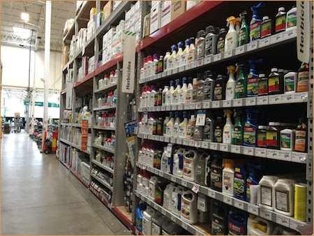 Photo of pesticide products