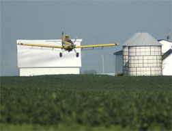 aerial pesticide application