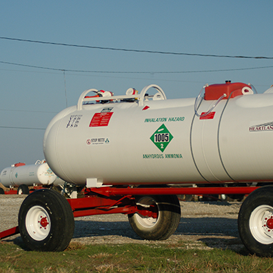Photo of fertilizer tank