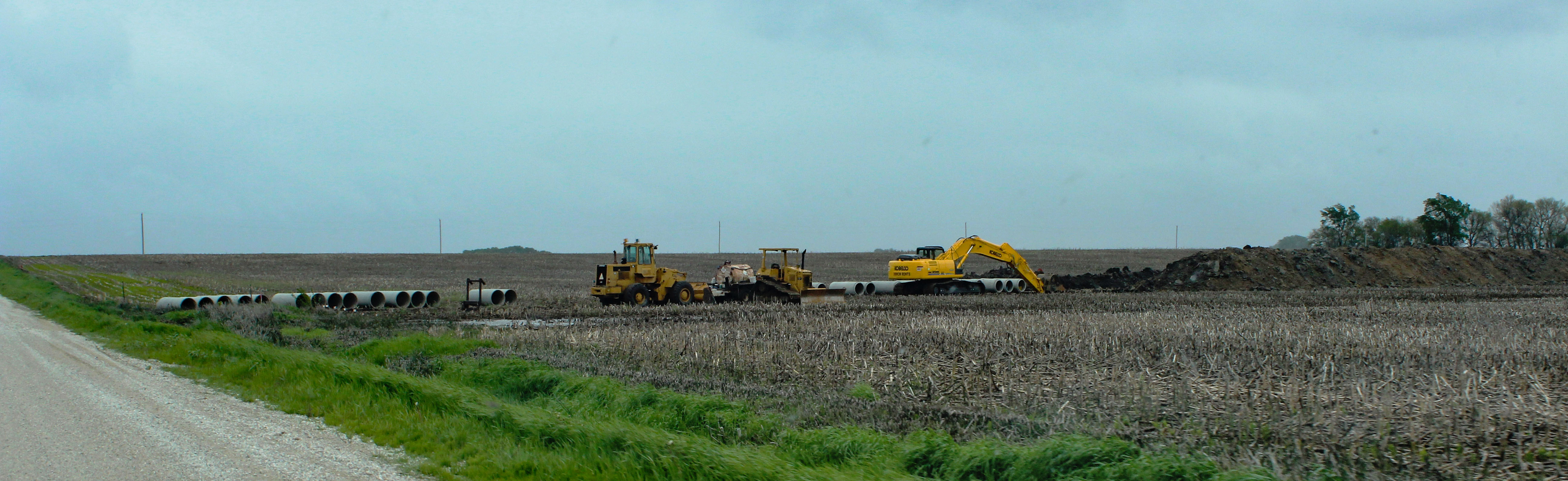 Photo of Ag Drainage construction