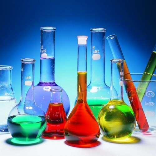 Photo of beakers and test tubes